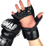 Quality MMA Boxing Fighting Half Gloves 4oz