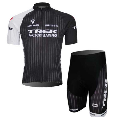 Team TREK Factory Pro Racing Clothing Set Cycle Jersey and Padded Shorts