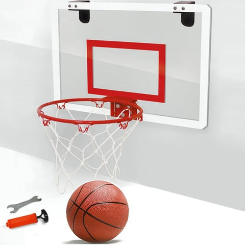 Pro Style Mini Indoor Mini  Hoop Basketball With Fibreglass backboard