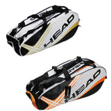 Head Tennis Bag Sport Bag Large Capacity 3-6 Tennis Racquets Bag Tennis Backpack
