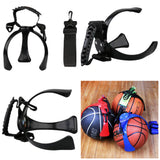 Basketball Carry Claw with Shoulder Strap, for Football, Soccer, Volleyball