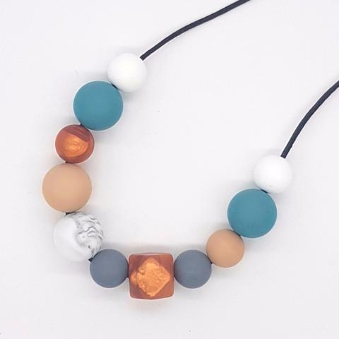 Silicone Necklace- Autumn