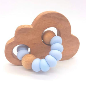 Teether Cloud- Baby Blue