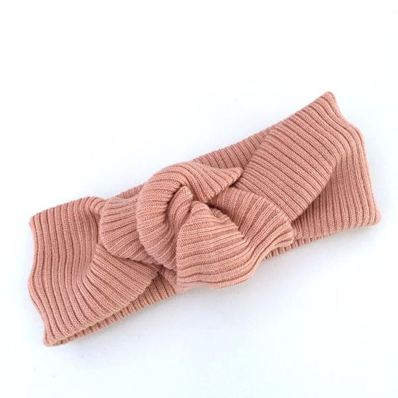 Textured Cotton Twist Knot- 4 Colours
