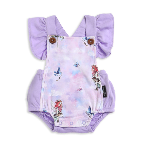 Unicorn & Fairy Ruffle Playsuit