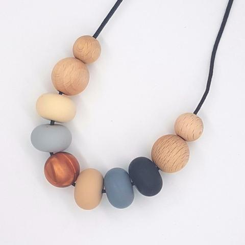 Silicone Necklace- Maple