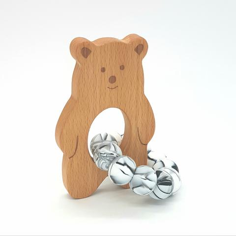 Teether Baloo Bear-Marble