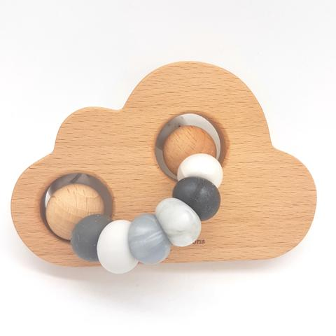 Teether Cloud- Monochrome