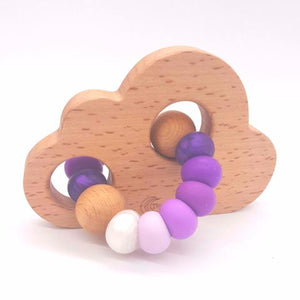 Teether Cloud- Ombre Purple