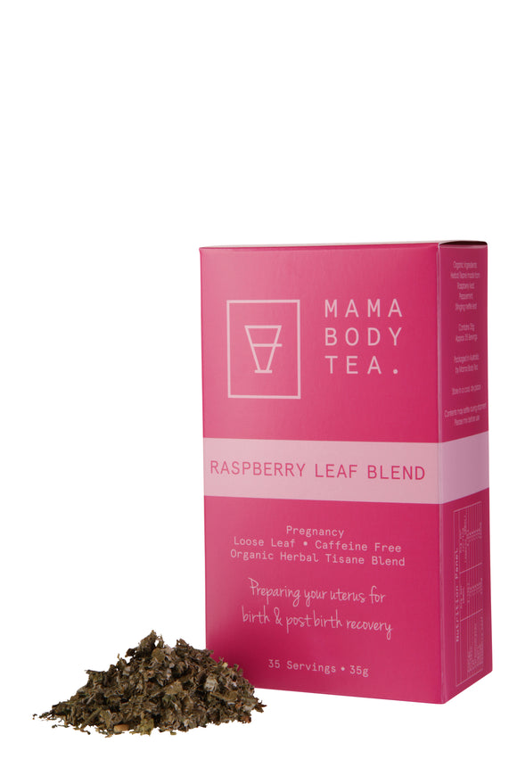 Mama Body Tea- Raspberry Leaf Blend