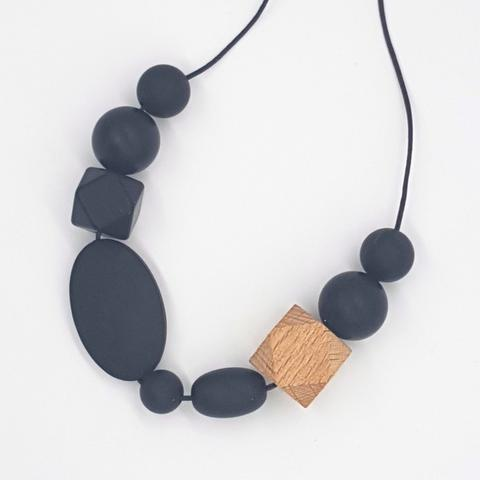Silicone Necklace- Smokey Hex