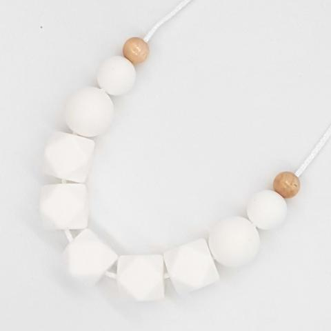Silicone Necklace- Snow White