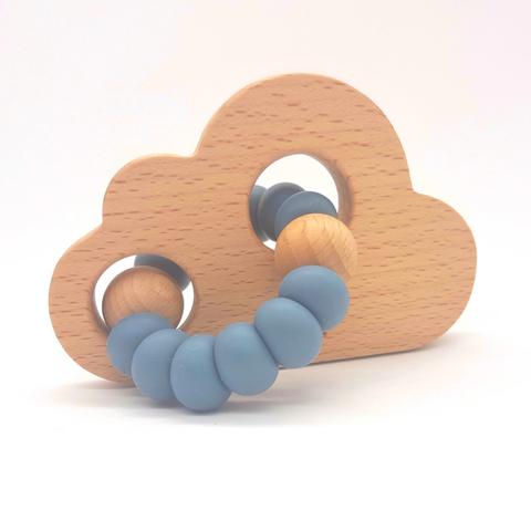 Teether Cloud- Storm Blue