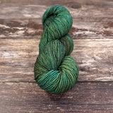 100g skein Fyberspates Vivacious 4ply colour  605 Deep Forest