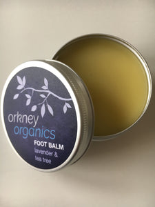 Organic Lavender and Tea Tree Foot Balm