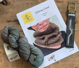 Orkney cowl kit in Fyberspates vivacious in 615 Lundy Island
