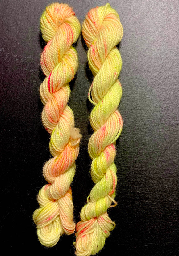 ROARY - Hand dyed, 4ply high twist merino, 10g