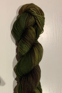 County Show - Hand dyed, 4ply high twist merino, 50g