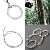 Emergency Survival Gear Steel Wire Saw Camping Hiking Climbing  Tool - Trendeinblick Inc