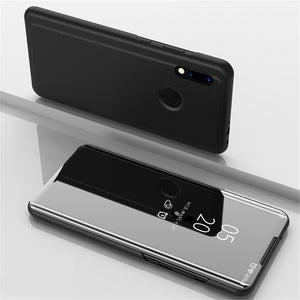 Flip with Stand Mirror Full Body Cover Case for Xiaomi Redmi Note 7 / Note 7 Pro