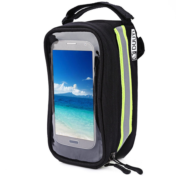 Touchscreen Cycling Top Front Tube Frame Saddle Bag for Phone Case