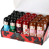 24pcs Magic Waterproof Cartoon Kimono Doll Lip Balm Moisturizing Lipstick