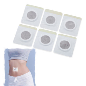 10pcs Slimming Navel Stick Magnetic Thin Body Weight Loss Burning Fat Paste