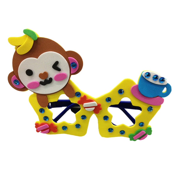 Children Cartoon Stereoscopic Glasses Handmade Stickup Educational Toy - Trendeinblick.com