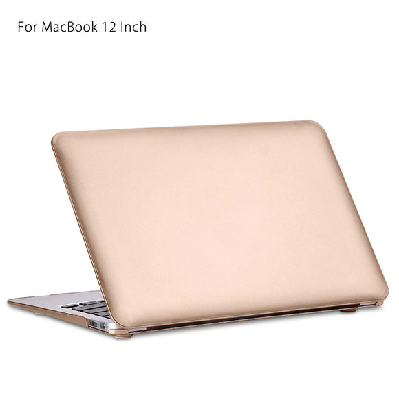 Simple Style Ultra Slim PC Hard Full Body Case for MacBook 12 Inch - Trendeinblick.com