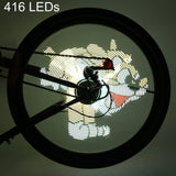 Waterproof Bicycle Light Video / Pictures  Wheel Spoke