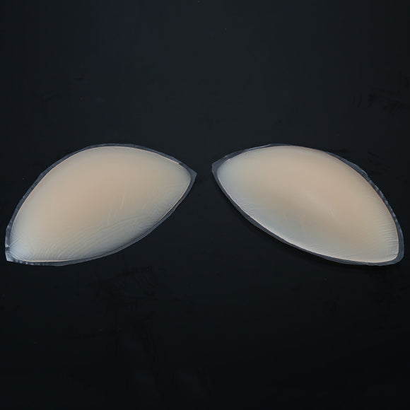 Paired Silicone Insert Bra Natural Soft Chest Pad