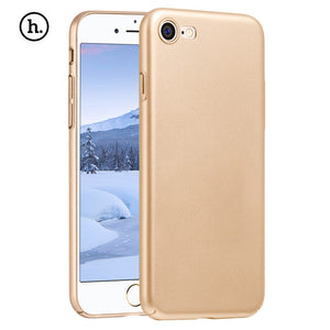 Close Skin Design Solid Color Protective PC Back Cover for iPhone 7 - Trendeinblick.com