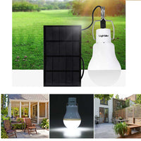 1200 Solar Powered LED Bulb Light - Trendeinblick Inc