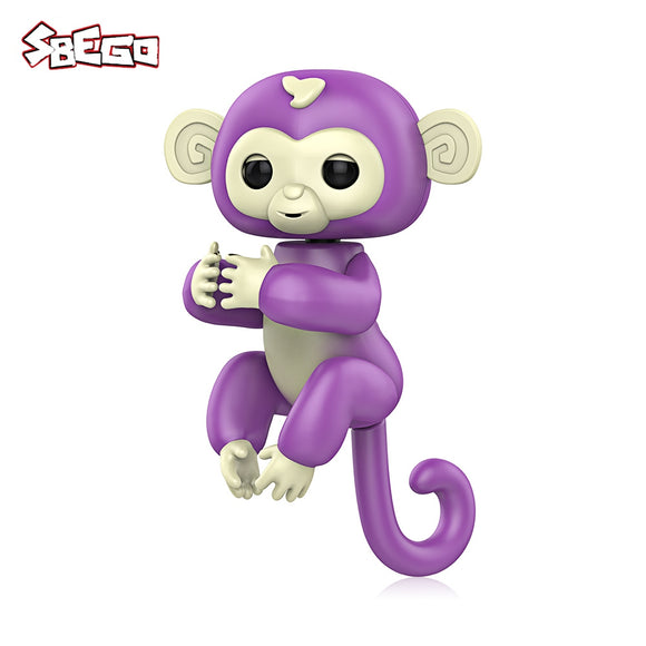 Portable Interactive Baby Finger Monkey Toy