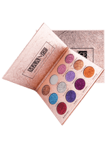 Professional 12 Colors Glittering Long Lasting Eyeshadow Palette - Trendeinblick Inc