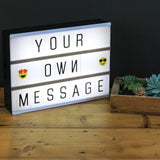 LED DIY Letter Combination Light Box Night Lamp - Trendeinblick.com