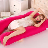 Full Body Maternity Pregnancy U Shape Side Sleeper Pillow - Trendeinblick.com
