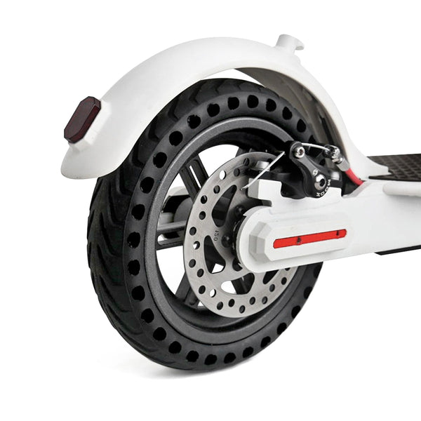 21cm Rubber Solid Rear Tire with Hollow Design for Xiaomi M365 Electric Scooter - Trendeinblick.com