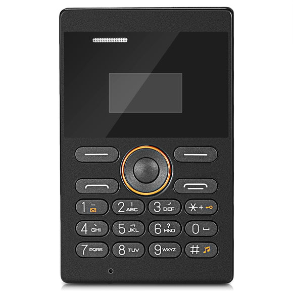 E1 Quad Band Unlocked Mini Card Phone