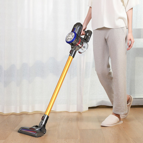 Cordless Vacuum Cleaner with Motorized Brush - Trendeinblick.com