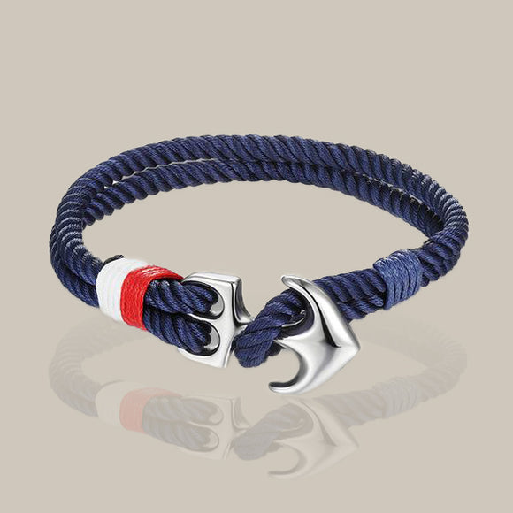 Men's Nautical Anchor Bracelet - Trendeinblick.com