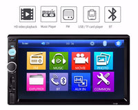 7 inch Bluetooth V2.0 Car Audio Stereo Touch Screen MP5 Player Support SD USB FM Radio - Trendeinblick Inc