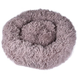 Calming, Anxiety Relieving & Cuddling Round Orthopedic Soft Donut Style Dog Cat Bed - Trendeinblick.com
