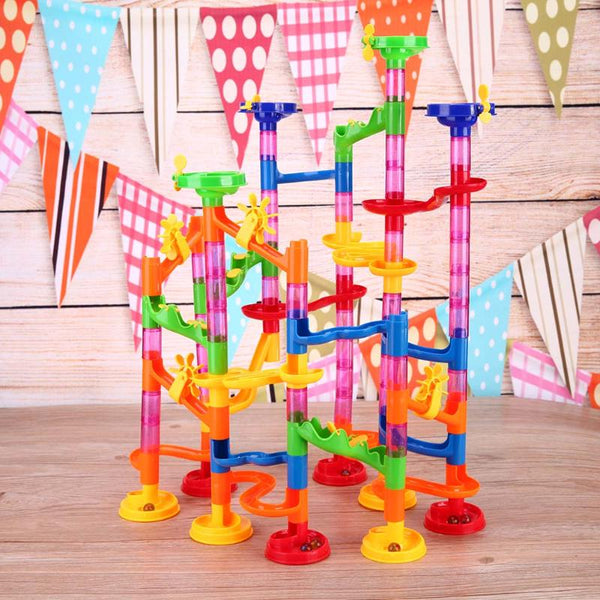 105 piece Marble Run Toy - Trendeinblick Inc