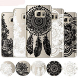 Floral Laced Design Phone Case For Samsung - Trendeinblick.com