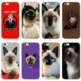 Siamese Cat phone case for iphone - Trendeinblick Inc