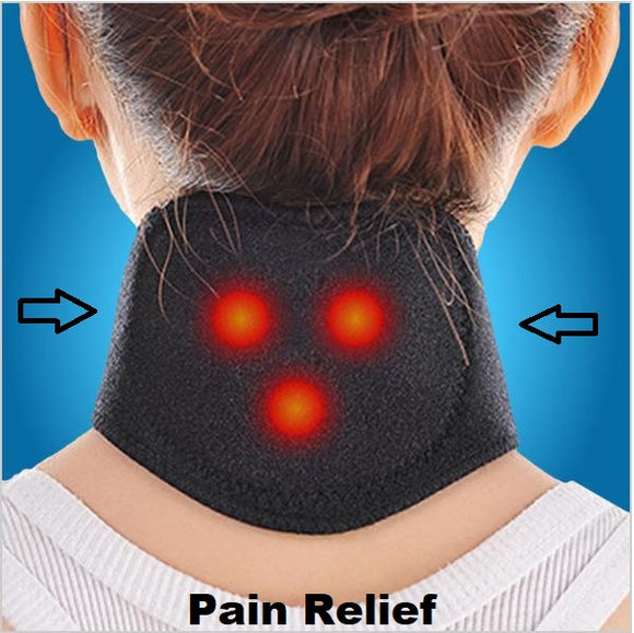 Smart Pain-Relief Self Heating Magnetic Neck Brace - Trendeinblick.com