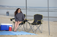 Heavy Duty Folding Chair - Black