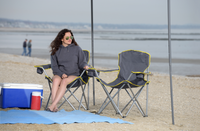 Heavy Duty Folding Chair - Gray