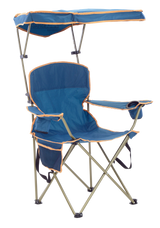 Max Shade 500 lbs. Steel Frame Folding Beach Fishing Camping Chair - Navy